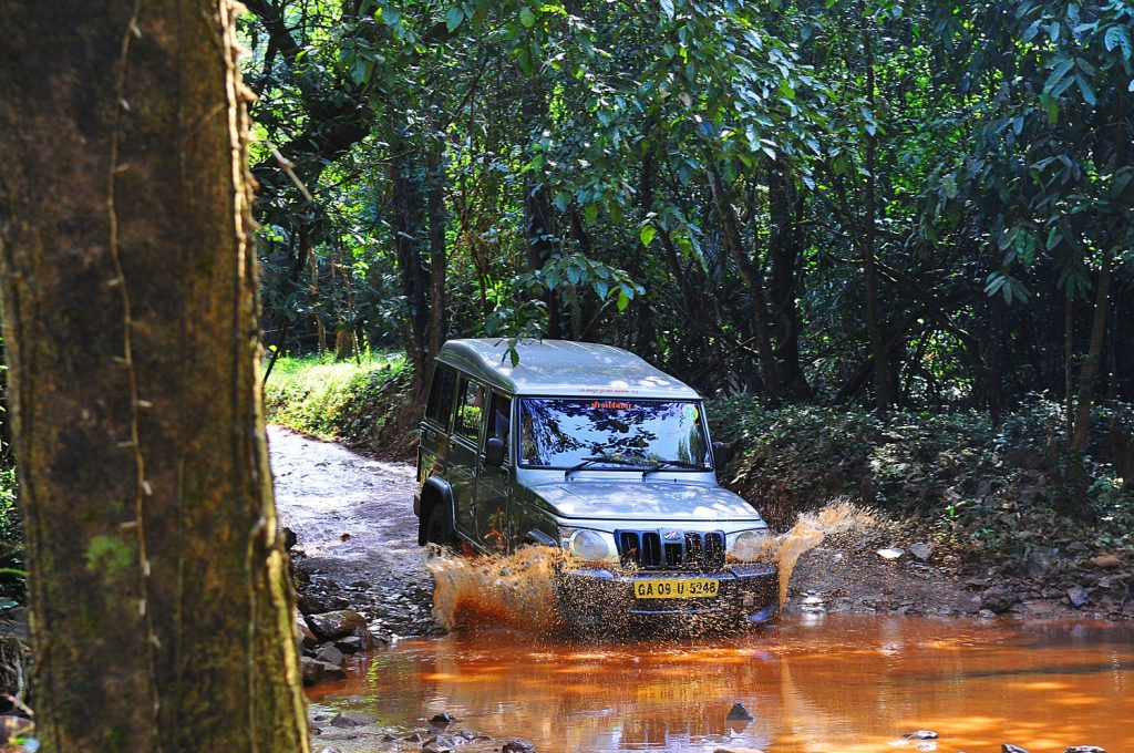 Dudhsagar falls jeep safari